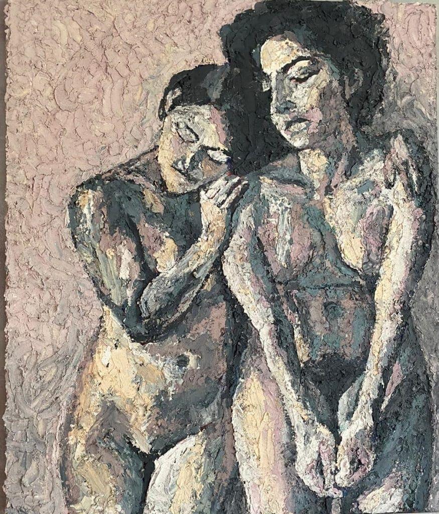 Kieran Smith - two women