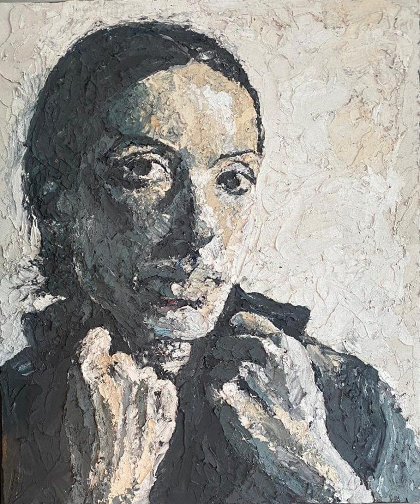 Kieran Smith-Portrait of A.P.