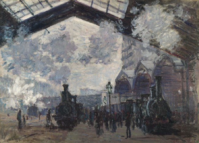 Influence of the Industrial Revolution on art