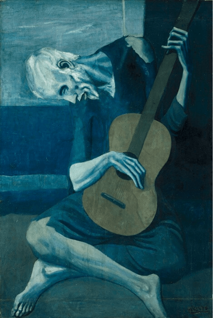 Psychology of colors - Pablo Picasso - st-Art