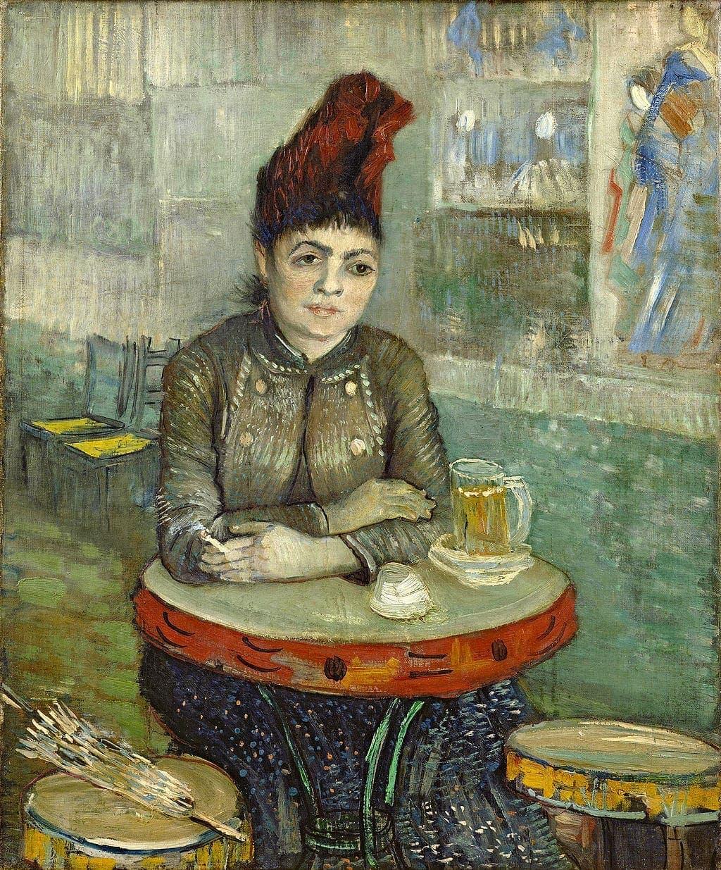 Van Gogh, Agostina Segatori en Le Tambourin, 1887
