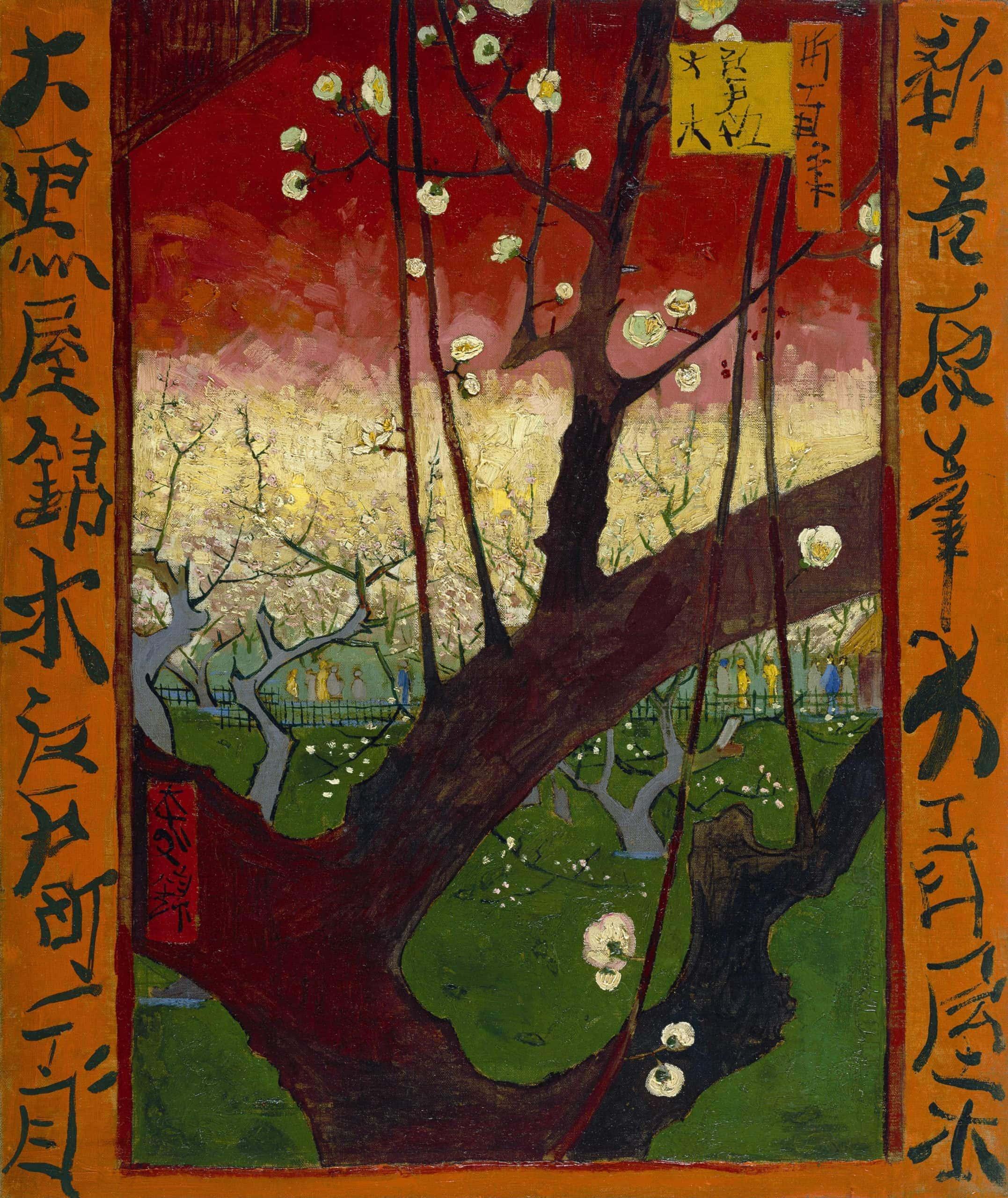 Van Gogh, Flowering Plum Tree