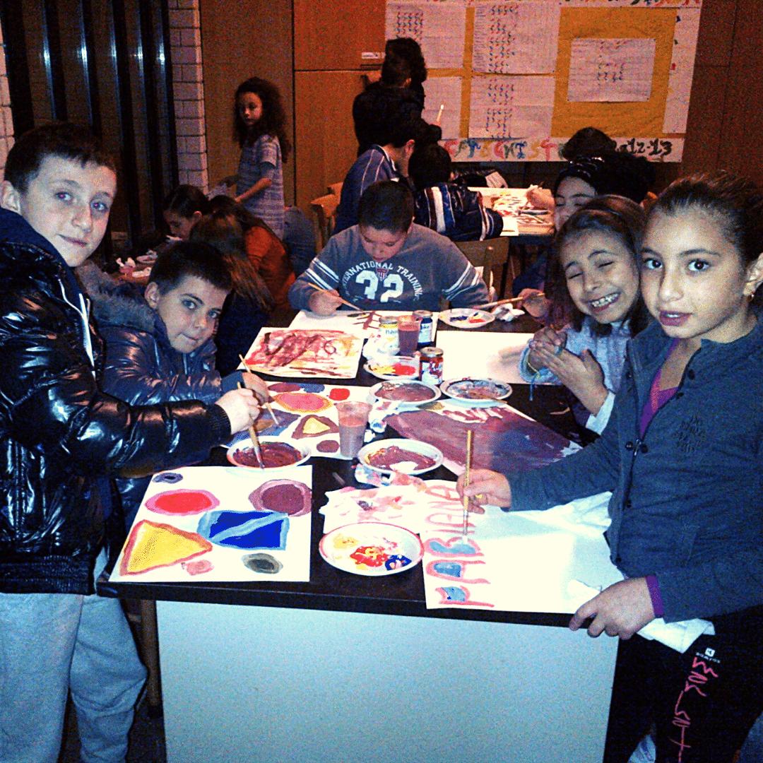 Kids art workshop example 1