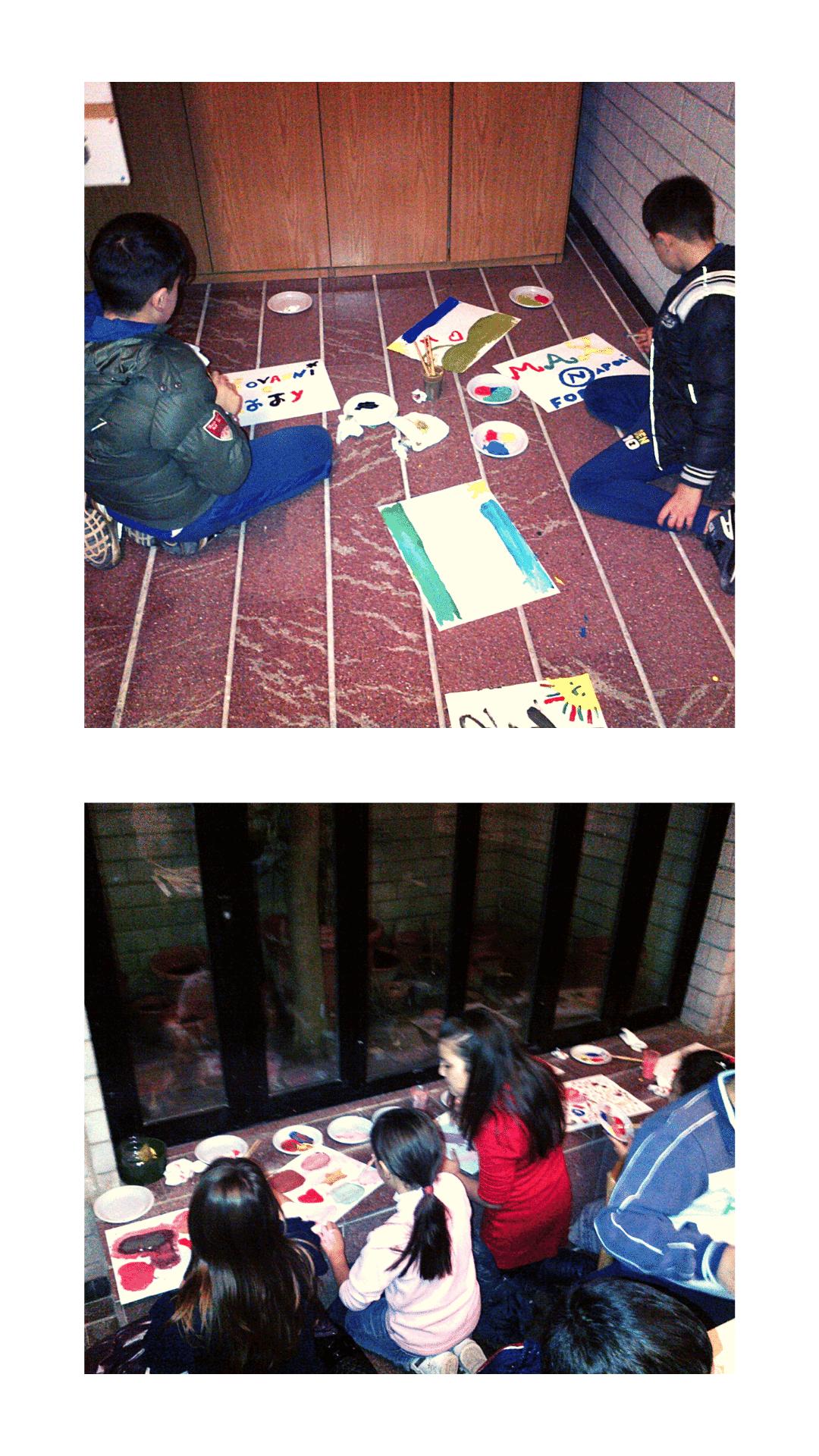 Kids art workshop example 2