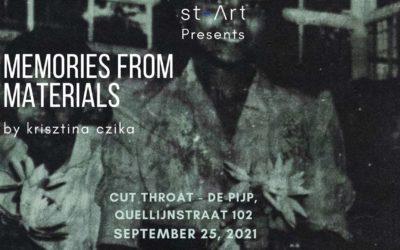 Art Exhibition – Memories From Materials by Krisztina Czika